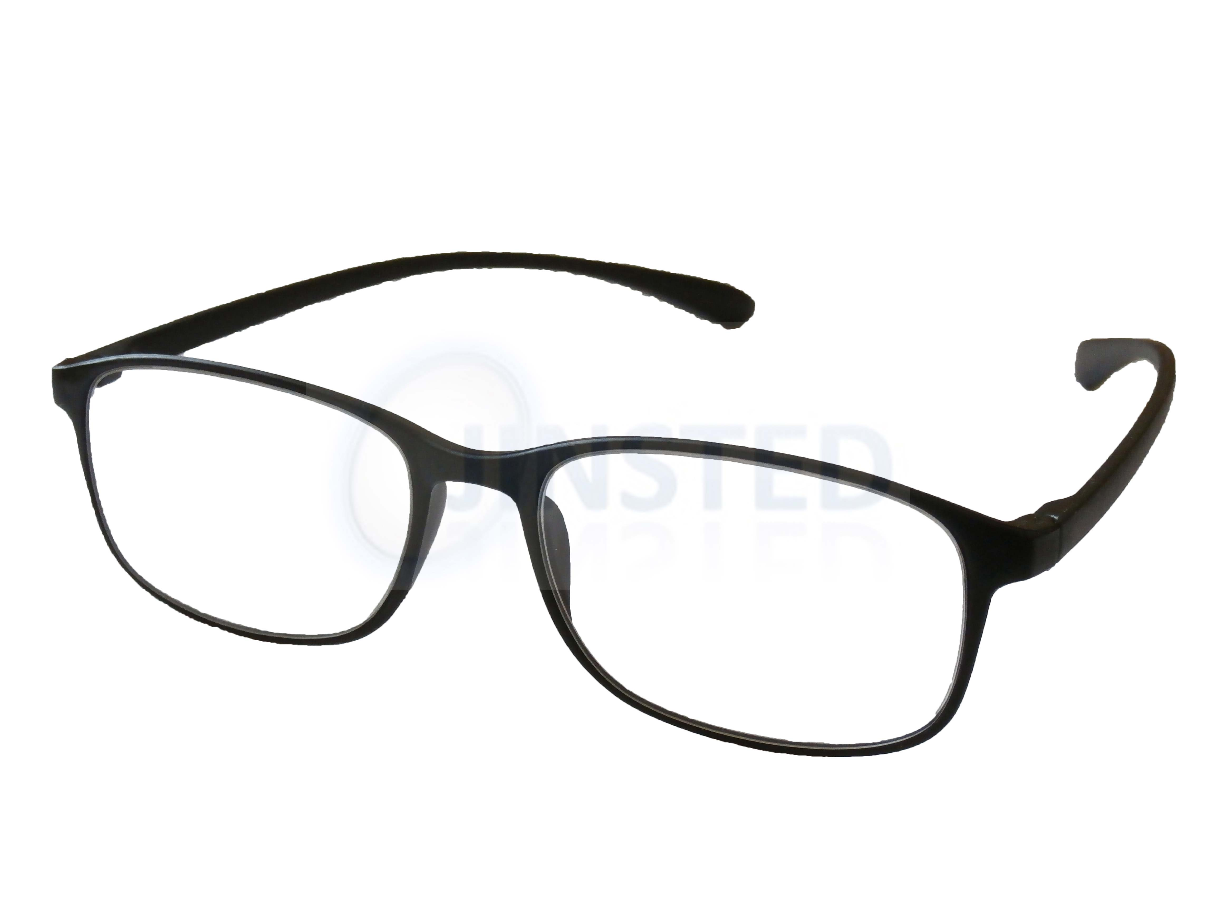 121899666ff Black Reading Glasses Specs Spectacles Readers Long Sighted ...